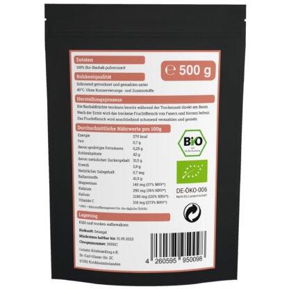 Bio-Baobab-Pulver