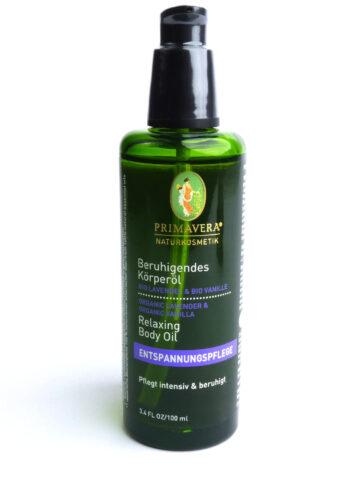 Primavera - Beruhigendes Körperöl Bio Lavendel & Bio Vanille 100 ml